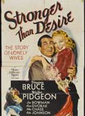Stronger Than Desire movie poster