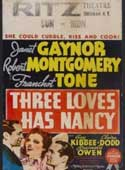 Three Loves Has Nancy movie poster
